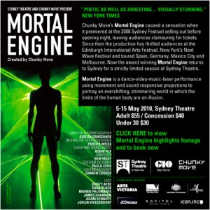 Mortal Engine in Sydney, Australia